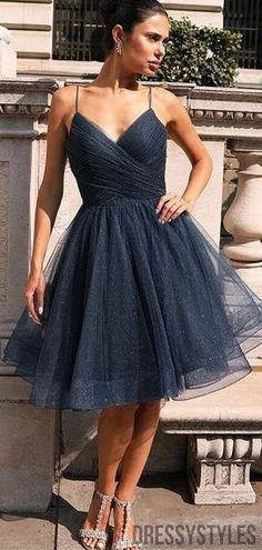 Shiny Spaghetti Straps Homecoming Dresses, BTW308 #homecomingdressesshort #homecomingdressespretty #homecomingdressesgorgeous #homecomingdressestight Blue Homecoming Dresses, Bridesmaid Dresses, Graduation Dresses, Belted Dress, Bodycon Dress, Dresses Short, Lace Dresses, Tight Dresses, Club Dresses