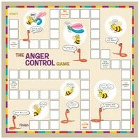 The Anger Control Game From the Creative Therapy Store this game by author Berthold Berg focuses is based on cognitive behavioral therapy techniques