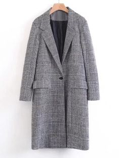 GET $50 NOW   Join Zaful: Get YOUR $50 NOW!https://m.zaful.com/one-buttoned-long-sleeve-checked-coat-p_392226.html?seid=5440883zf392226