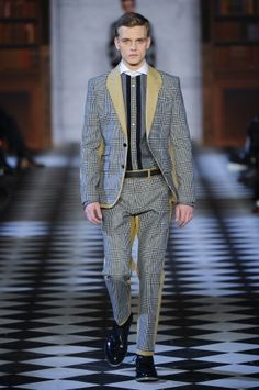 Tommy Hilfiger Fall Winter Menswear 2013 New York Creativity takes courage. -Henri Matisse