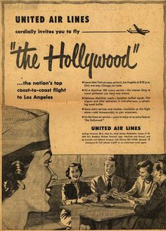 """United Airlines """"The Hollywood"""" (New York to Los Angeles)"""
