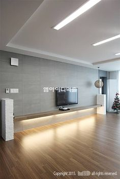 Design interior hall home 30 Ideas for 2019 Living Room Wall Units, Living Room Red, Living Room Modern, Asian Interior Design, Interior Design Living Room, Modern Interior, Room Interior, Tv Wall Design, Lobby Design