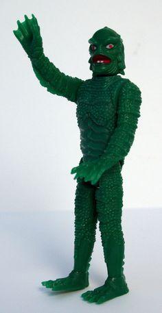 Universal Studio's Creature from the Black Lagoon Mini Monster, Remco, 1980