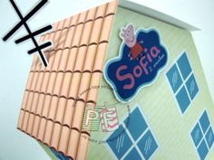 Casa da Peppa Pig de 28cm + Poça de lama