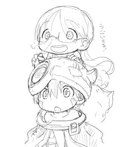 Croquis - Made in Abyss Chibi Characters, Cute Characters, Anime Manga, Anime Art, Abyss Anime, Geometric Drawing, A Silent Voice, Anime Tattoos, Shadow The Hedgehog