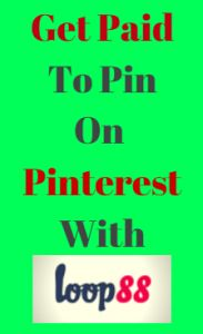 Learn How You Can Make Money On Pinterest By Pinning Sponsored Pins At Loop88! Super Easy to join and get started making money with your Pinterest Account!