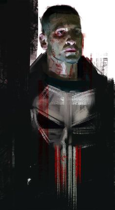Frank Castle aka The Punisher. Played by Jon Bernthal - Daredevil season 2 Marvel Comics, Hq Marvel, Marvel Heroes, Marvel Characters, Captain Marvel, Spiderman Marvel, Punisher Daredevil, Punisher Logo, Comic Books Art