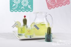 Serve up classic margaritas in festive personalized rocks glasses you can give to guests or keep for your next Cinco de Mayo bash. Kate Aspen, Outdoor Parties, Tequila, Chic, Festive, Blog, Rocks, Glasses, Ideas