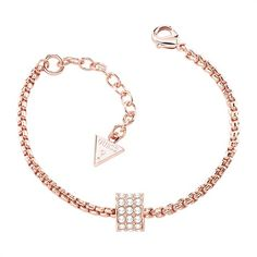 Armband G Rounds Guess rosé Swarovski-Kristall UBB21578 im Angebot bei The Jeweller http://www.thejewellershop.com/ #silber #guess #jewelry #armband #rose