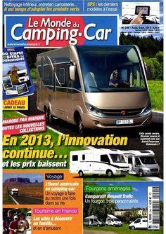 Le Monde du Camping Car N°244-Aout-Septembre 2012...!!!