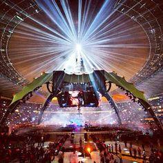 U2 360 tour. I was there...twice!!!