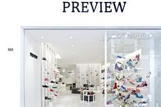 PREVIEW shoe store by in between Design Office Hong Kong 06