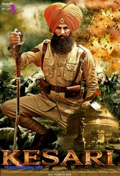 Havildar Ishar Singh who participates in the Battle of Saragarhi in which an army of 21 Sikhs fought against. Download Free Movies Online, Free Movie Downloads, Hd Movies Online, New Movies, Free Bollywood Movies, Bollywood Posters, New Hindi Movie, Hindi Movies