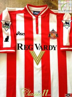 Official Asics Sunderland home football shirt from the 1999 00 season.  Complete with official 2d840b84c