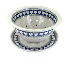 Polish Pottery Cupid Berry Bowl ** For more information, visit image affiliate link Amazon.com