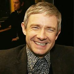 Oh my gosh!! Martin's big, crinkly smile! I love it. Idk if I've ever seen that smile :)