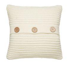 """""""Chunky Knit""""  Cor(es): Charcoal, DuckEgg, Natural, Polar, RaspBerry & Vermelho. Composição: 100% Acrílico  #Almofadas Decorativas (45X45): 14,90eur  #Mantas (125X150): 27,90eur   #catherine #lansfield #home #chunky #knit #charcoal #duckegg #natural #polar #raspBerry #vermelho."""