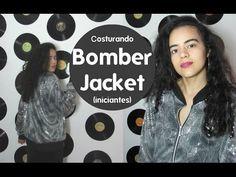 Aula 16 Costurando Bomber Jacket Alana Santos Blogger - YouTube