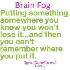Brain fog!