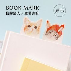 2.35$  Buy here - 30 pcs/pack Memo Lovely Cat Bookmark Paper Cartoon Bookmark Promotional Gift Stationery Film Bookmark   #magazineonlinebeautiful