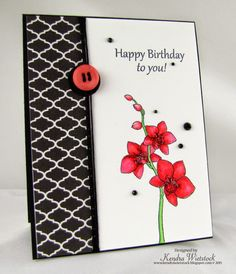 Kendra's Card Company: Gina K Designs ~ Inspiration Blog Hop Day #2