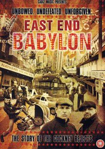 NEW - Cockney Rejects- East End Babylon, The Story of The Cockney Rejects DVD #ayp #punk #cockneyrejects