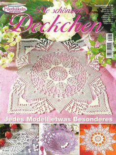 Kraina wzorów szydełkowych...Land crochet patterns ..: cała książka serwetek