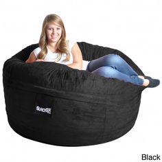 Durable and soft the Slacker Sack Microfiber Suede Bean Bag Chair Outer Cover is designed for 5 foot bean bag chairs. This super soft bean bag cover also features a zipper closure and is machine washable.