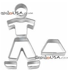 Making fun kids meals just got easier: person shaped cookie cutter.