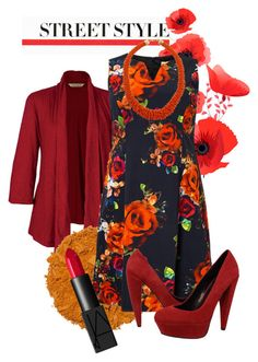 """""""Styling in Orange"""" by falsettoslumber on Polyvore"""