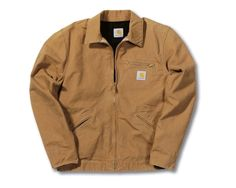 An American Classic, loved by both rappers & Hollywood stars alike - The Carhartt Men's Lightweight Detroit Jacket. Looks as good with jeans as your old work pants.