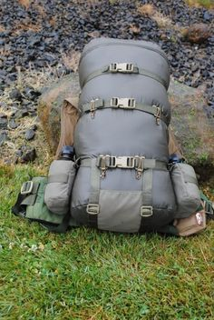 "Hill People Gear 25"" Silnylon Pack Bag on Kifaru EMR"
