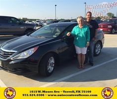 https://flic.kr/p/HkWQLY | Happy Anniversary to Amanda on your #Hyundai #Sonata from Kara Short at Auto Center of Texas! | deliverymaxx.com/DealerReviews.aspx?DealerCode=QZQH