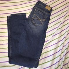 Aeropostale Jeans I got these jeans at Aeropostale. They just don't fit me right. I've never worn them. They are 000 Long. New without tags. OFFERS WELCOME! 😊 Aeropostale Jeans Skinny
