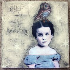 owl-knowing by stephanie rubiano, via Flickr