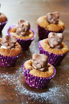 Cupcakes nounours guimauve