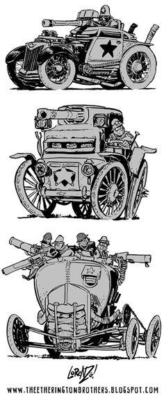 Weird War Machine Week part 2