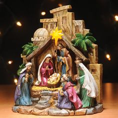 LED Nativity Scene - Creations and Collections