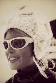 Brigitte Bardot in the French Alps, 1960s