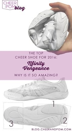 We're forcasting that the Nfinity Vengeance will be the top pick for the 2016 cheer competition season! Agree or disagree with us?! Check out what makes the vengeance so incredible.