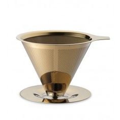 Teministeriet Paperless Coffee Dripper Gold