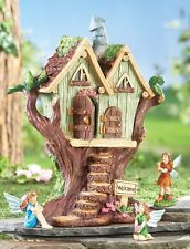 Garden Statue Fannie the Fairy Sitting Garden Statue Garden