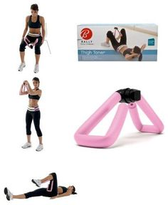 New Bally Pink Thigh Toner Leg Machine Fitness Strength Training Equipment #Bally