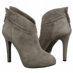 Women's Jessica Simpson Aggie Charcoal Suede Shoes.com