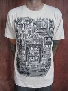 THE WALL on creme 2XL by timberps on Etsy, $22.00