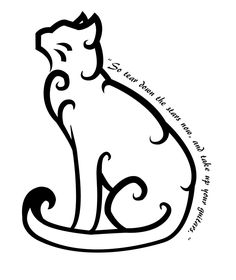 cat tattoo by 102vvv designs interfaces tattoo design this is a ... -See more stunning Tattoo Design at stylendesigns.com