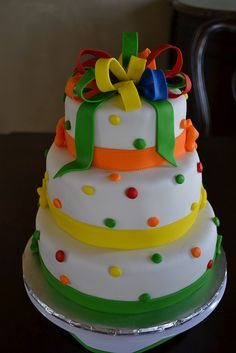 Skittles Lover Birthday Cake