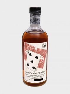 We offer an unrivaled selection of rare bottles of Japanese whisky, spirits and sake, including some that you won't have seen elsewhere. Shop Ichiro's Malt - Five Of Spades today. Japanese Whisky, Single Malt Whisky, Distillery, Whiskey Bottle, Wines, Investing, Strength, Geek Stuff, Cards