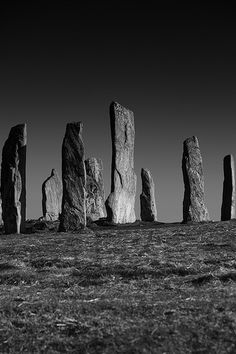 60 seconds...I'd be gone in 60 seconds. ~ Callanish Standing Stones - Scotland