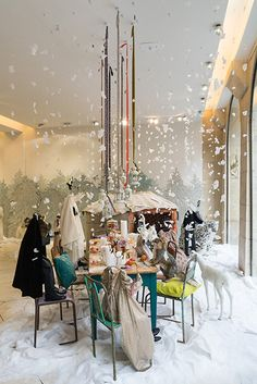 "BONPOINT,Paris,France, ""Noel... The Magic Starts Here"", pinned by Ton van der…"